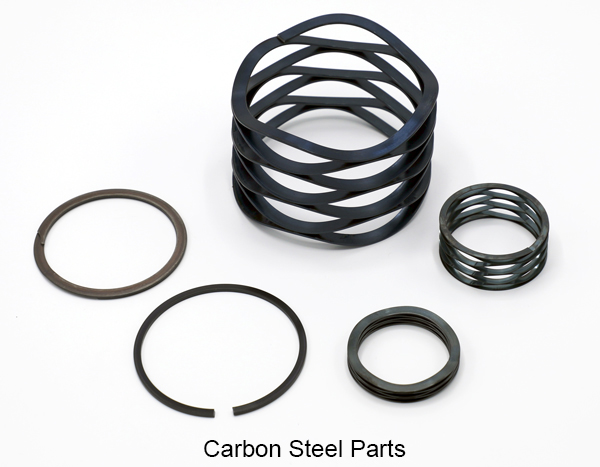Carbon Steel Retaining Rings and Wave Springs