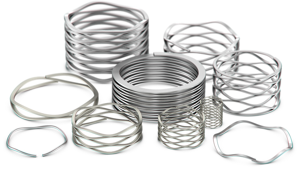 Smalley Wave Springs for Medical Applications